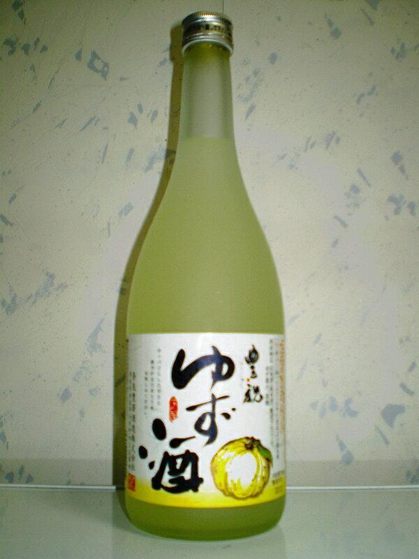ほんのりしたライト感覚のゆず酒 豊祝 720ml...の商品画像