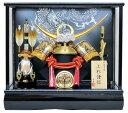 送料無料 10号上杉兜ケース飾りYN31306GKC 上杉謙信 五月人形ケース(木製弓立太刀 )兜飾り 五月人形 ケース kabuto