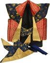 五月陣羽織No.6 兜 鉢巻付 五月人形 祝い着 祝着 鎧飾り 兜飾り kabuto yoroi