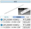 LED蛍光灯 人感センサー付き LED照明 アイリスオーヤマ40W型 昼白色 ECOLUX LDFL2000NF-H50MS2