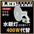 LED投光器・高天井照明 水銀灯300W相当 投光器タイプ 角度110度  昼白色  LED照明屋外屋内用 L100W-P-HW-50K-L-BR-DFL