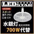 LED投光器・高天井照明 メタハラ400W相当 E39 角度60度 昼白色  LED照明屋外屋内用 L200W-E39-AS-50K