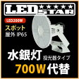 LED投光器・高天井照明 メタハラ400W相当 投光器タイプ 角度60度 昼白色  LED照明屋外屋内用 L200W-P-AS-50K-L-BR-DFL
