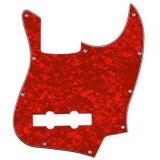 【YJB PARTS】爵士乐基本用pick防护 JB62 红色珍珠4P inch 【邮件投递对应】[【YJB PARTS】 ジャズベース用ピックガード JB62 レッドパール4P インチ 【メール便対応】]