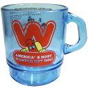 Wienerschnitzel ウィンナーシュニッツェル クリア プラスチック マグカップ アメリカン雑貨