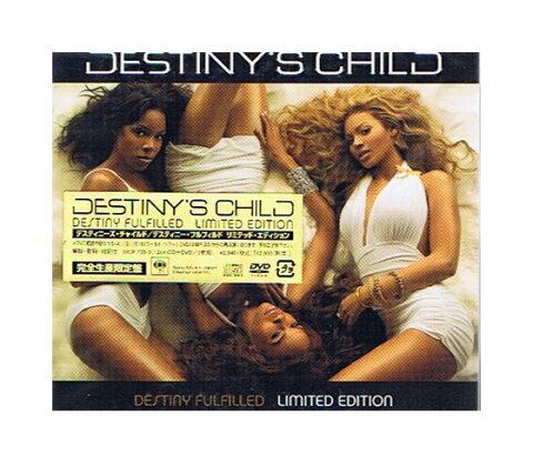 未開封新品CD+DVD「デスティニーズ・チャイルド(デスチャ)/デスティニー・フルフィルド リミテッド・エディション」完全生産限定