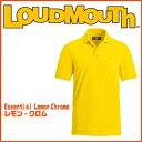 ラウドマウス レモンクローム エッセンシャルシャツ(半袖) LoudMouth Essential Lemon Chrome Shirt メンズ ウェア ポロシャツ 正規取扱店