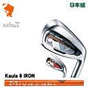 球桿(男用) - ダンロップ ゼクシオテン アイアンDUNLOP XXIO X IRON 9本組Kaula 8 for IRON カーボンシャフトメーカーカスタム 日本正規品