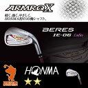 本間ゴルフ 2018年 ベレス IE-06 2S レディース アイアン HONMA BERES IE-06 2S Ladies IRON 7本組 ARMRQ X アーマック カーボンシャフト