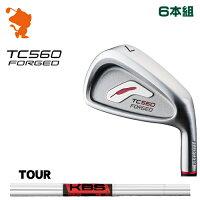 フォーティーン TC-560 FORGED アイアンFOURTEEN TC560 FORGED IRON 6本組KBS TOUR スチールシャフトメーカーカスタム 日本正規品の画像