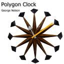 ジョージ・ネルソン おしゃれ 時計 ポリ...