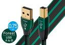 audioquest - USB2 FOREST/0.75m(USB2/FOR/0.75M)(USB2.0・A-B)【在庫有り即納】