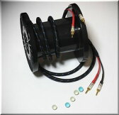 DH LABS ディーエイチラボ Q-10 signature 2.5m pair (Single) アンプ側スペード スピーカー側スペード