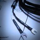 DH Labs リベレーション・ピュア スピーカーケーブル 2.0m ペア アンプ側:Yラグ スピーカー側:バナナ