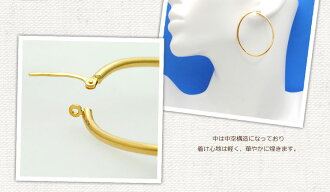 Unoaerre K18 hoop earrings fs3gm