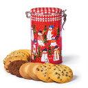 【ステラおばさんのクッキー】【期間限定】16キャニスター缶(スノーマン)/16クリスマス クッキー ギフト 詰め合わせ プレゼント プチギフト
