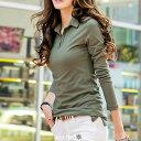 ショッピングダンガリー TシャツS.M.L.LL レディースの大きいサイズ専門M~5L13号〜29号 【大きいサイズ13号〜23号aura 】 Tシャツ Tシャツ Tシャツ