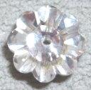 [DA108]スワロフスキービーズ フラワー #3700/8mm クリスタル(Silver foiled) 6ケ[RPT]