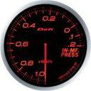 [Defi] デフィ Defi-Link Meter ADVANCE BF インマニ計/プレッシャー計 60φ 赤レッド インマニプレスメーター