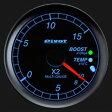 【送料無料】Pivot ピボット MULTIGAUGE マルチゲージ X2-L φ60 ブルー照明