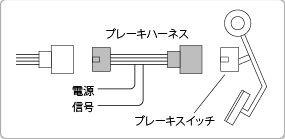 Pivotピボット3-DRIVE・ACブレーキハーネス