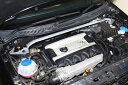 [OKUYAMA] オクヤマ ストラットタワーバー (スチール、フロント) 【VW ポロ GTI 9NBJX】 ※送料…北海道(4320円)、沖縄・離島(着払い)