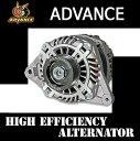ADVANCE ≪ハイエフェンシーオルタネーター≫(ダイナモ) レガシィ BL/BP EJ20/25 [150A] シルバー