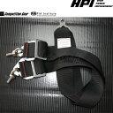[HPI] コンペテションギア レーシングハーネス 4点式用 追加6点股下(2インチ) 全9カラー FIA規格公認