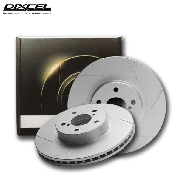 [DIXCEL] ディクセル ブレーキローター SDタイプ フロント用 ルノー【ルーテシア (クリオ) III 2.0 RS RF4C 09/10~13/09】 送料無料(沖縄・離島・同梱時は送料別途) プラス20%の制動力がもたらす安全性