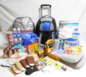 Disaster prevention set J type (NEW) [two for] as a gift, wedding gift, housewarming, house warming, midyear.