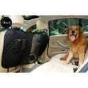 AL ペット用品 デラックス カー 旅行 犬 カーシートフェンス安全バリア フェンス後列シート安全分離ネット 保護 選べる3カラー 115 x 162 CM AL-AA-2696