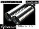 インシュランス/INSURANCE プラチナヴォイスマフラー/Platinum Voice Muffler Esperanza/エスペランザ 両側 102φ オデッセイ RB1