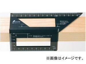 シンワ測定 一発止型定規 ポリカーボネート 62112 JAN:4960910621121