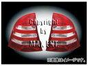 マックスエンタープライズ OE Parts テールレンズ レッド/クリスタルクリアー/レッド '05-ルック 品番:210026 メルセデス・ベンツ W203 Cクラス ワゴン