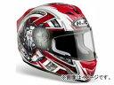 2輪 HJC/エッチジェイシー ヘルメット FS-15 トロフィー HJH034 ホワイト/レッド