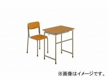 ナイキ/NAIKI 学校用デスク 2号 NKG-2452-DD0 650×450×520mm