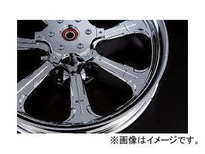 2輪 リズム ホイール SEVEN CROSS 18インチ P032-2395 ポリッシュ 550-18 リア offset:2mm ヤマハ V-MAX1200