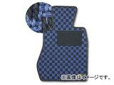カロ/KARO フロアマット SISAL 品番:1281 カラー:ブルー/ブラック他 サーブ 41885 DB204 ハンドル:右 FF フットレスト:有 1998年06月?2003年01月