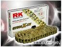 2輪 アールケー・エキセル/RK EXCEL シールチェーン GV ゴールド GV525R-XW 120L