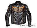 2輪 シンプソン フェイクレザージャケット ブラック/ゴールド 選べる5サイズ SJ-5114