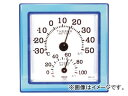 クレセル/CRECER 温湿度計 クリア・ミニ ブルー CR-12B JAN:4955286804858