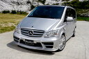 V-class W639 VIANO ~'11y ('12y LOOK 変身KIT) FRONT GRILLE(バンパ-との同時装着が必須です)