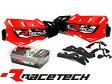 RACETECH レーステック アルミバー付きハンドガード 【赤】2015年モデル