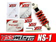 NS1 NS-1 AC12 245mm YSS 高級 ガスショック 無段階式 スプリング プリロード調整機能付