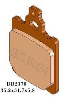 DELTA(デルタ) ブレーキパッド アプリリア MX50/RX50/RS50 リア フロント 1セット(2枚組)
