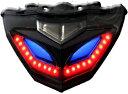 スモーク LED テールランプ ウィンカー内臓 ニンジャ250 NINJA 250 EX250L/300 Z250 高輝度LED カプラオン ボルトオン