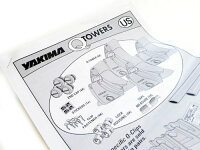 【US直輸入正規品】YAKIMAヤキマベースラックキャリアセット【Qタワー・Qクリップ・クロスバー】