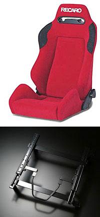 スズキスポーツレカロSR−III TRAIL+ローポジションシートマウントセット運転席のみです。