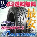 ■ATR SPORT 205/40R17インチ【新品タイヤ】サマータイヤ