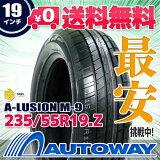 ��¨��ȯ���ۢ�MOMO(���) A-LUSION M-9 235/55R19(235/55-19 235-55-19�����)�Ը����ѡե������AUTOWAY�ʥ����ȥ������˥��ޡ��������RCP��05P03Sep16 0902_flash